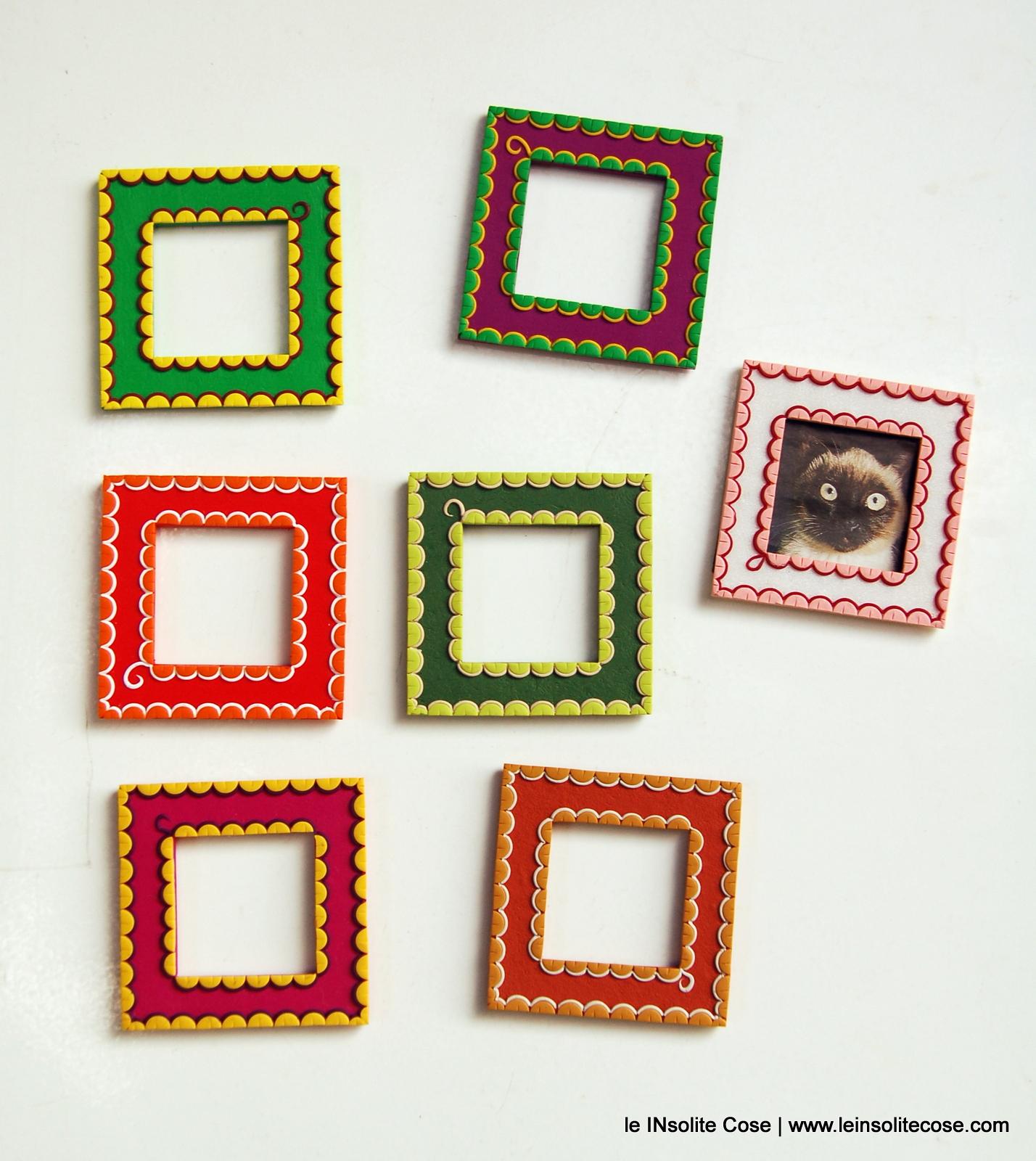 cornici magnetiche portafoto pizzi e merletti 2016
