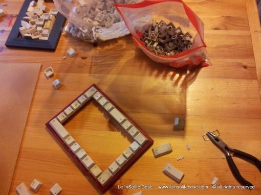 Making of… Cornici con Tastiere