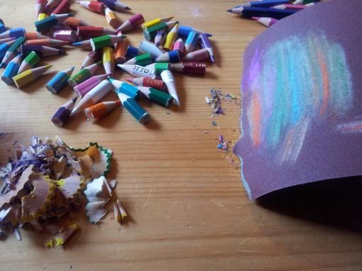 Riciclo Creativo: Matite colorate