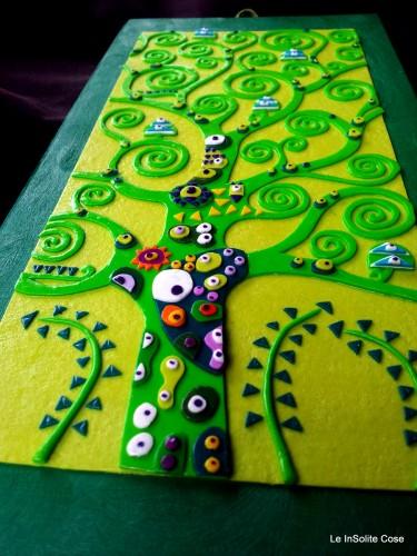 """Albero della Vita """"Verde per Gaia"""" – Klimt project 2014"""