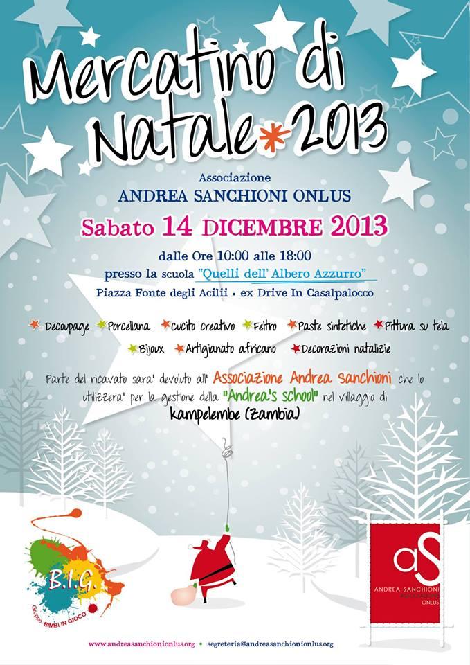 Mercato di Natale Andrea Sanchioni onlus
