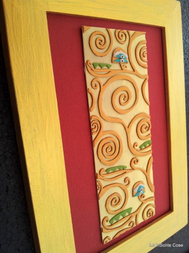 Quadri in Fimo – Klimt project 2012