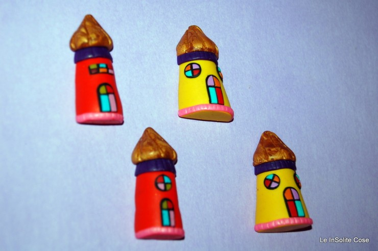 2012 - MAGNETS - Calamite in Fimo - Magical Lighthouses www.leinsolitecose.com
