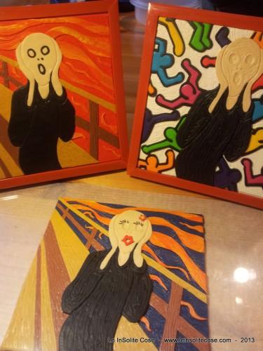 Tributo a Munch – Trittico di Urli