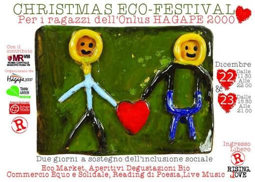 Locandina Christmas Eco Festival 22 e 23 Dicembre - immagine