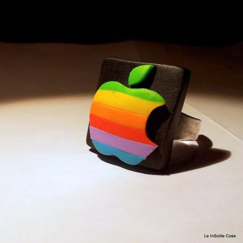 Vintage Apple Logo – Anello 2013