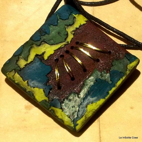 """Ciondoli """"Un tronco, una foglia, un filo d'oro"""" – 2014"""