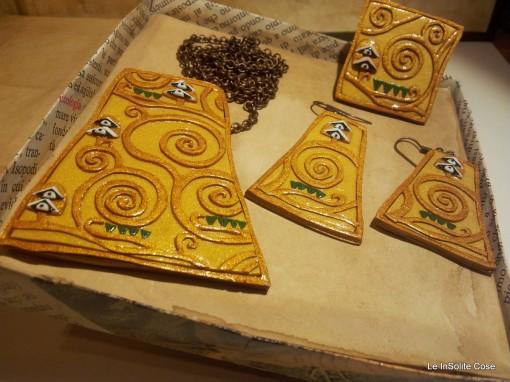 Klimt Project - Parure Albero della Vita - www.leinsolitecose.com  (2)