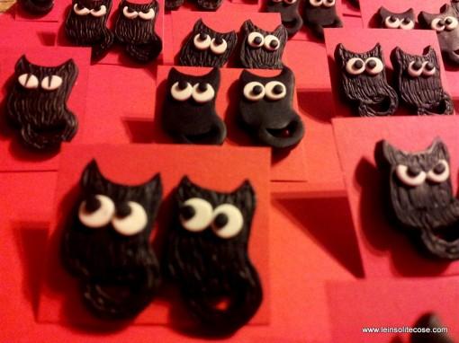 Il Ritorno dei Gattufi – Orecchini Gatto Nero – 2014