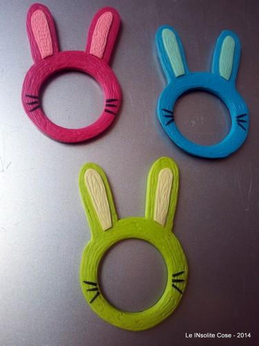 Coniglietti – Cornici Magnetiche Portafoto – 2014