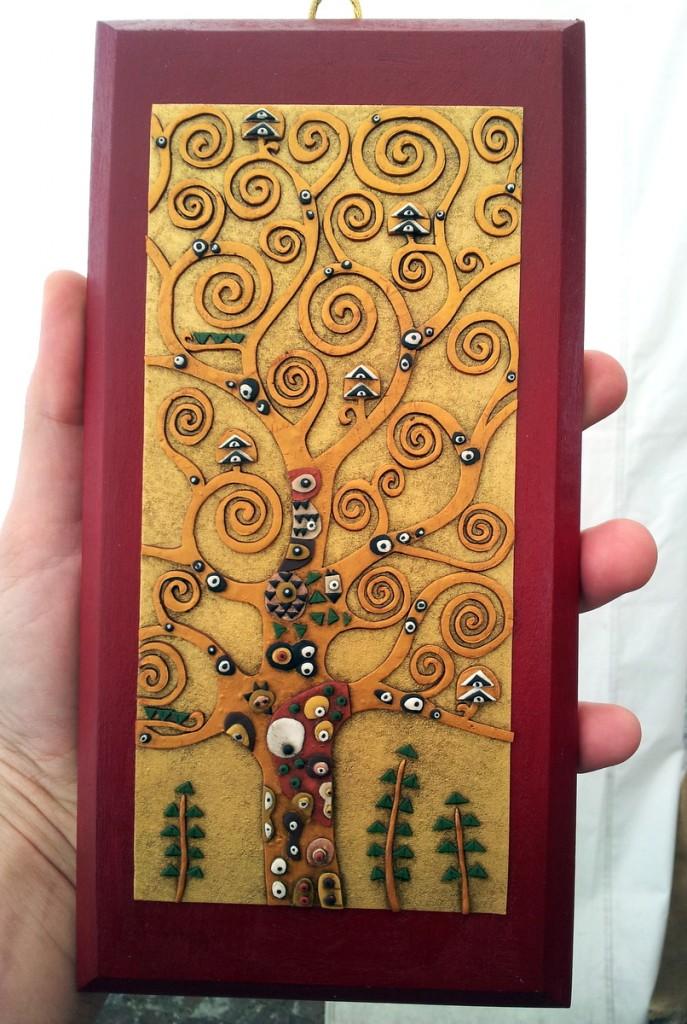 Popolare Albero della Vita – Klimt project 2014 - Le INsolite Cose JK28