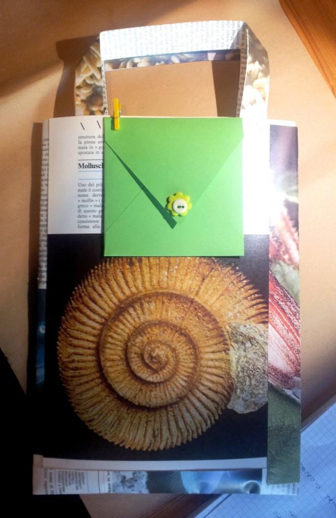 InSolita confezione regalo per Oggetto InSolito con bigliettino handmade - le InSolite Cose 2014 (1)