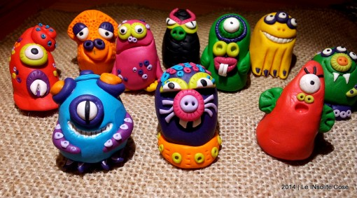 Mostri – Handmade Fimo MOnsterS