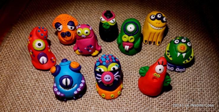 Mostri - Handmade Fimo Monsters - www.leinsolitecose.com 2014  (3)
