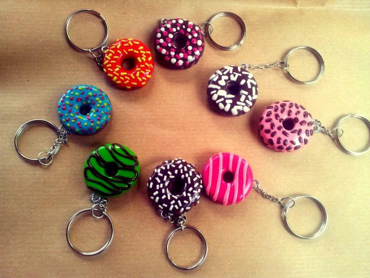 Portachiavi Donut . Le InSolite Cose (1)