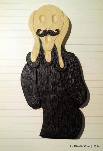 Calamita Urlo di Munch – con baffi