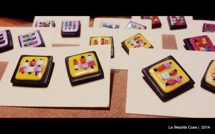 Orecchini Polymer Circuits - Handmade in Italy - Le INsolite Cose 2014 (1)