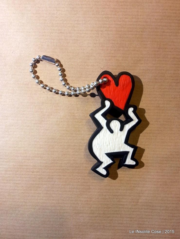 Portachiavi Keith Haring - una richiesta - Le INSolite Cose 2015 (1)