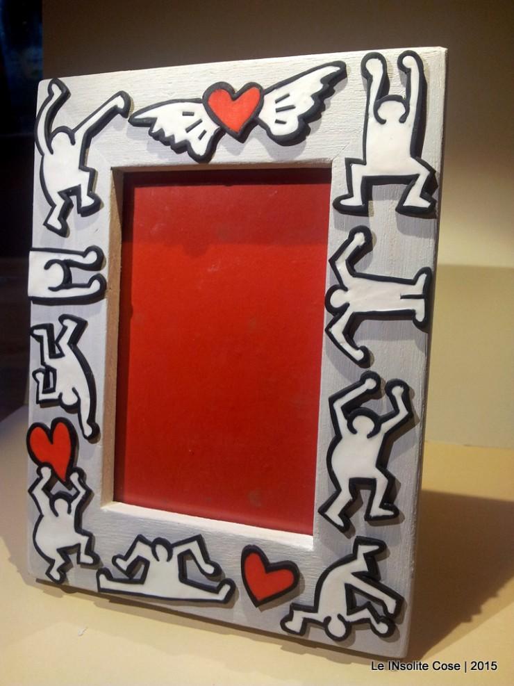 Cornice Portafoto Keith Haring - Una richiesta - Le INsolite Cose 2015 (7)
