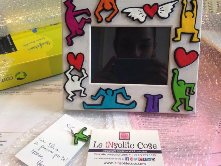 Cornice portafoto personalizzata - ringraziamenti - Le INSolite Cose 2015
