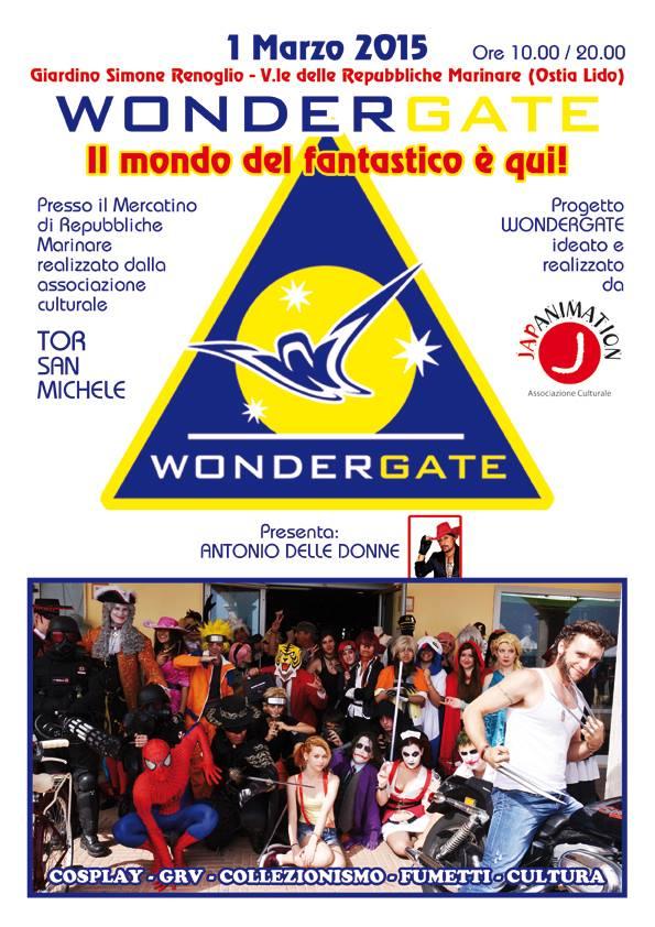 Le INsolite Cose al Wondergate presso il mercato di Via delle Repubbliche Marinare a Ostia - 1 Marzo 2015 - full