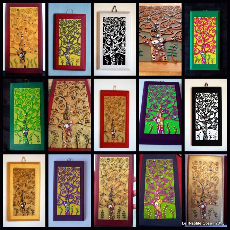 Albero della Vita Klimt - LE INsolite Cose - Colori