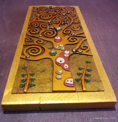 """Albero della Vita Oro su Oro """"Classic Klimt"""" – Versione ridotta 2015"""