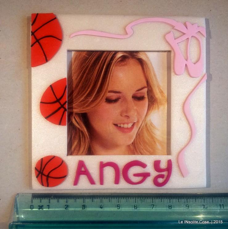 Cornice portafoto con palle da basket e scarpette da danza - per Angy - Le INsolite Cose (10)