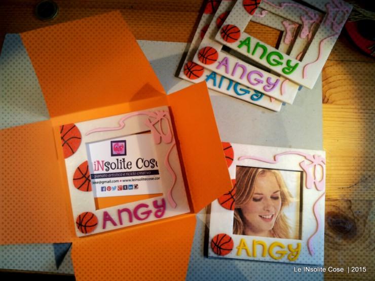 Cornice portafoto con palle da basket e scarpette da danza - per Angy - Le INsolite Cose (5)