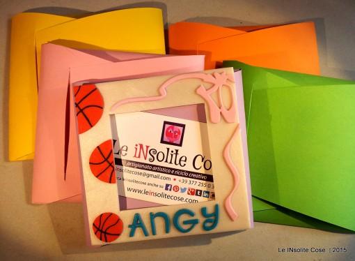 Cornice portafoto magnetica personalizzata – per Angy