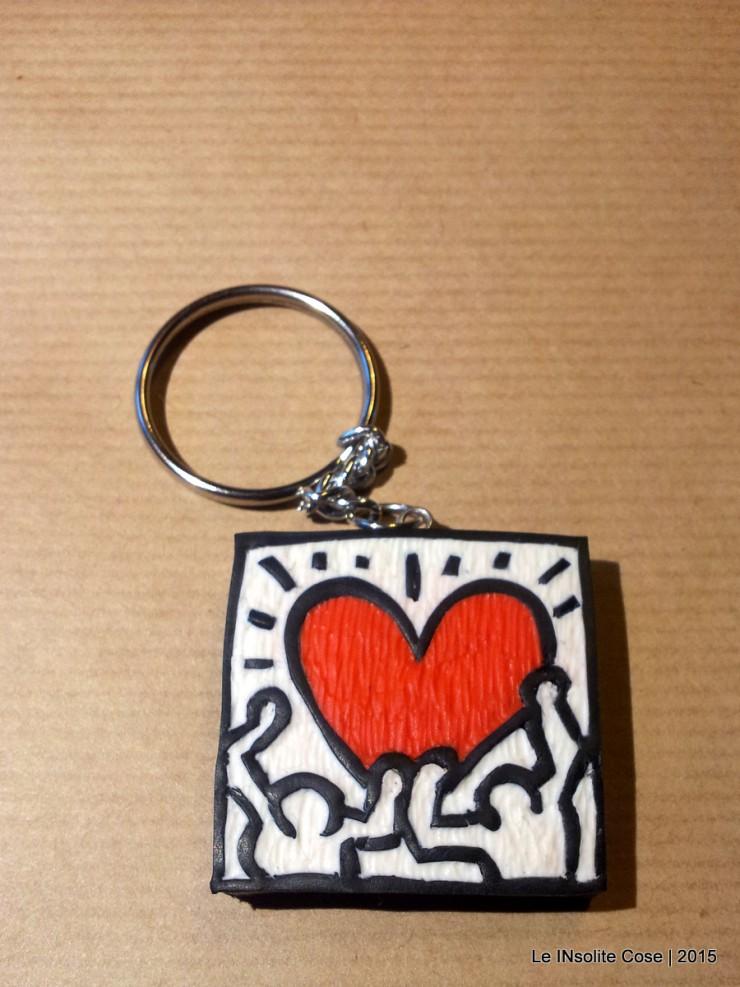 Portachiavi Keith Haring - una richiesta - Le INSolite Cose 2015 (5)