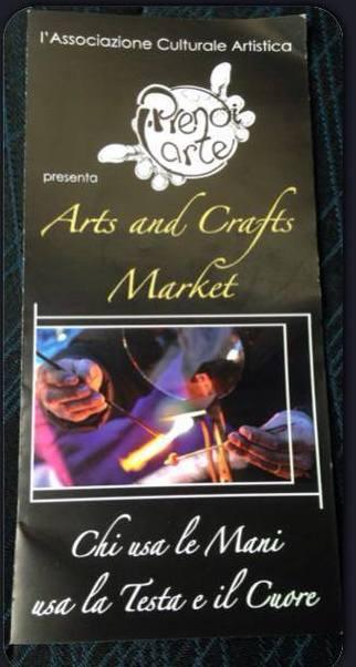 Le INsolite Cose al  mercatino Arts and Crafts di Trastevere Roma con Prendi L'Arte - 31 Maggio 2015 - Roma