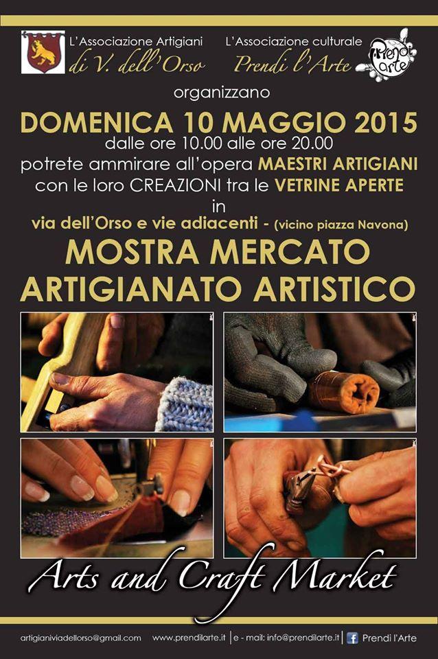 Le INsolite Cose all'Arts and Crafts Market di via dell'Orso (piazza Navona) Roma - 10 maggio 2015