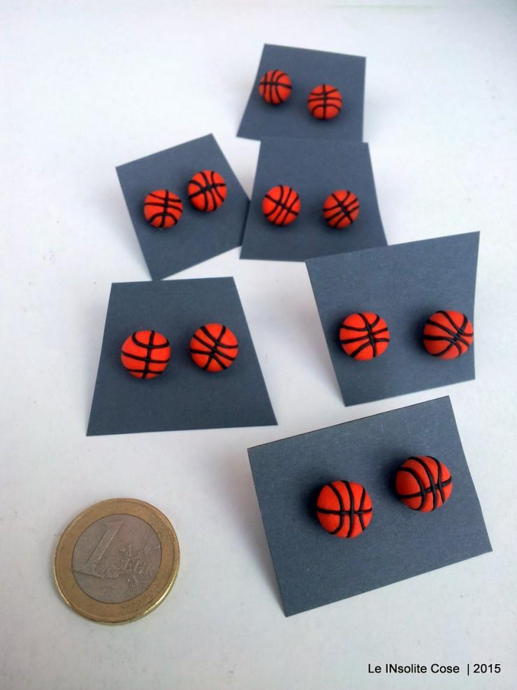 Orecchini palla da basket - Le INsolite Cose 2015 (2)