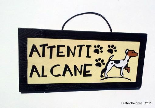 Tavoletta personalizzata – Attenti al Cane. Una richiesta
