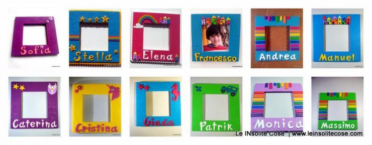 cornici portafoto personalizzate - le inSolite Cose