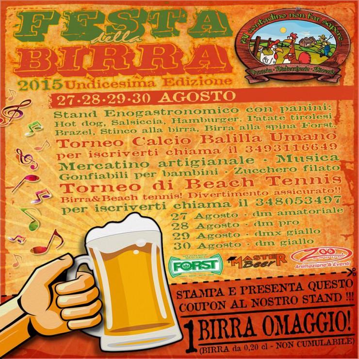 Le INsolite Cose alla Festa della Birra al Contadino non far sapere Ostia Antica - 29 e 30 Agost0 2015