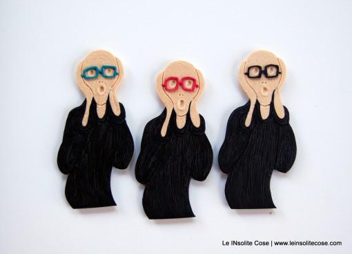 Calamita Urlo di Munch – con Occhiali