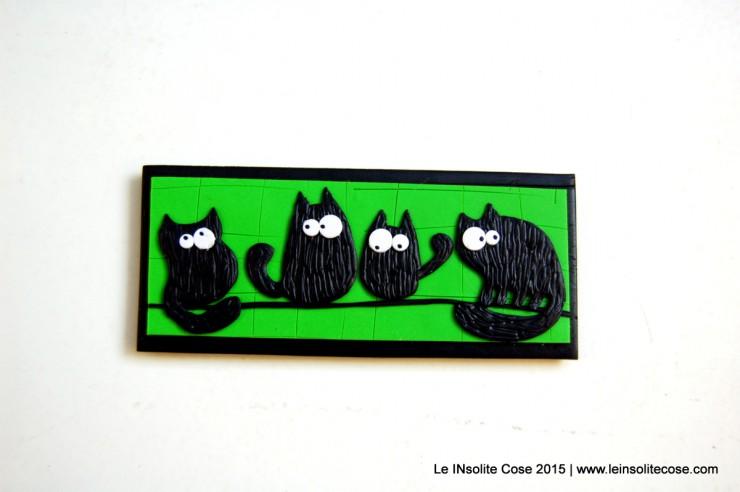 Calamite con gatti neri - Sfondo verde - Le INsolite Cose 2015 (4)