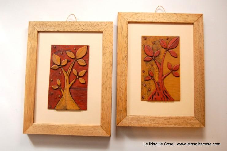 albero nostro ocra e terracotta, con cornice - Le INsolite Cose 2015 (5)