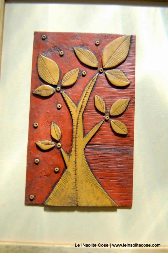 albero nostro ocra e terracotta, con cornice - Le INsolite Cose 2015 (6)