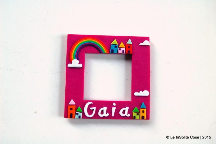 Cornici portafoto con arcobaleno personalizzate - le INsolite Cose (2)