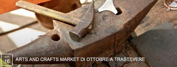LE INSOLITE COSE all'arts and crafts market di Trastevere venerdi 16 e domenica 18 ottobre 2015