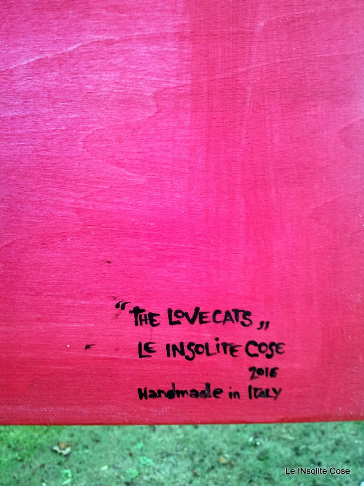 Tavoletta gatti -. The Lovecats - 28x28 - Le INsolite Cose 2015 (4)