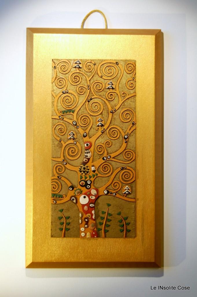 Albero della Vita di Klimt artigianale regalo di nozze bomboniera matrimonio - le INsolite Cose 2015 (1)