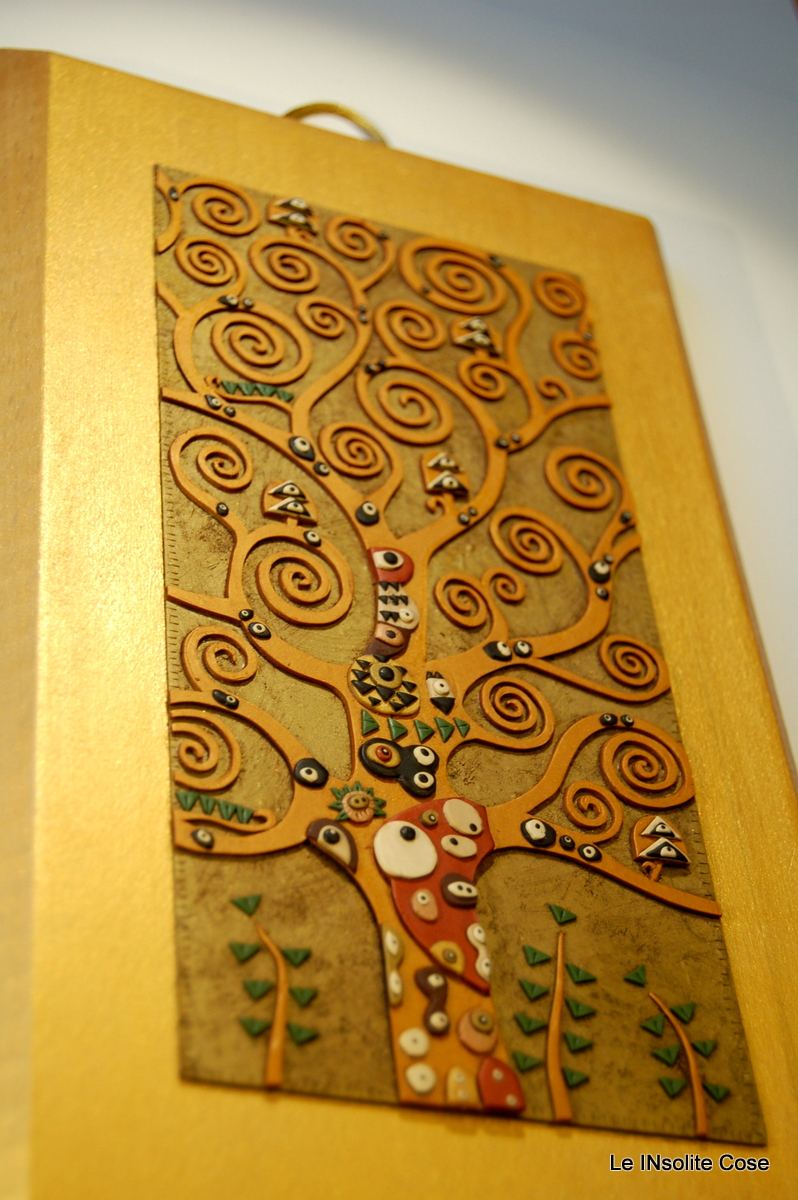abbastanza Albero della Vita di Klimt - Oro oro oro! - Le INsolite Cose NF55