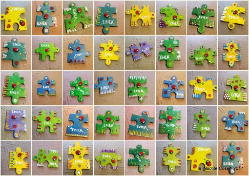 Calamite puzzle personalizzate con nome – nuova richiesta per bomboniera