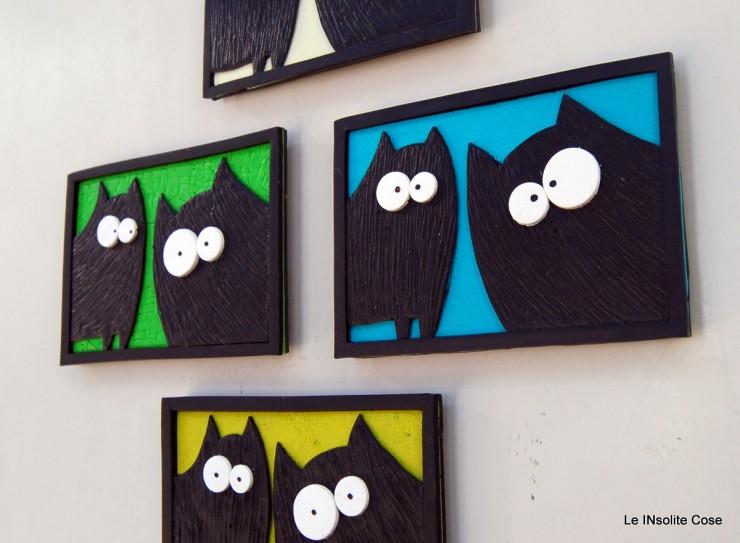 Calamite coppia di Gatti neri in primo piano- Le INsolite Cose 2015 (2)