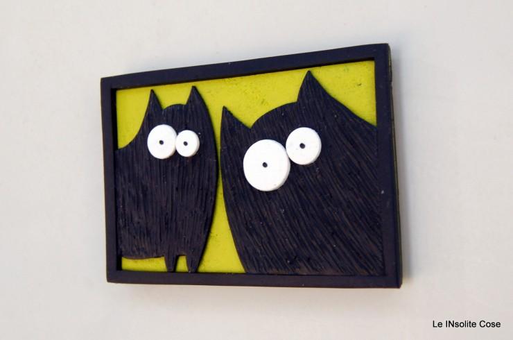 Calamite coppia di Gatti neri in primo piano- Le INsolite Cose 2015 (4)