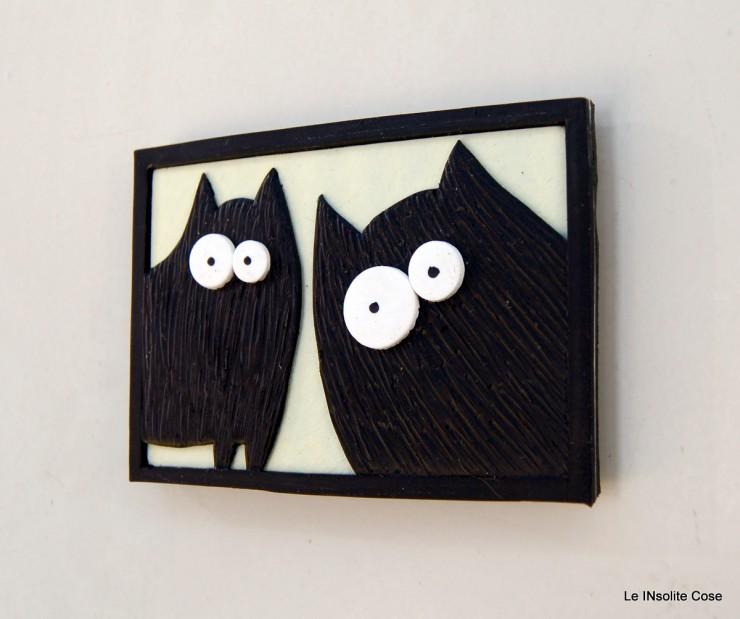 Calamite coppia di Gatti neri in primo piano- Le INsolite Cose 2015 (9)
